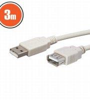 USB hosszabbító A aljzat - A dugó 3,0 m