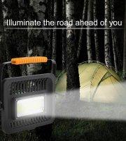 50 W Akkumulátoros hordozható LED reflektor