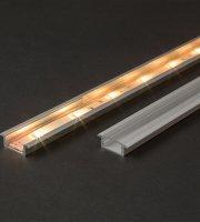 LED aluminium profil takaró búra átlátszó 1000 mm