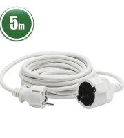 Hálózati lengő hosszabbító 3 x 1,0 mm2 5 m