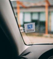 Autós parkolójegy tartó - öntapadós