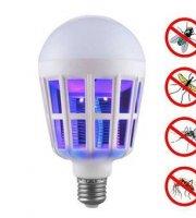 15 wattos szúnyogirtó LED izzó, UV fénnyel
