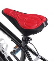 Nyereghuzat, bicikli üléshuzat (légáteresztő) Piros