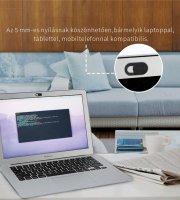Ultravékony webkamera takaró