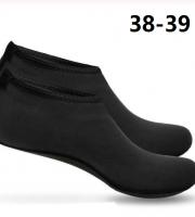 Vizicipő, tengeri cipő, úszócipő, fürdő cipő 38-39 Fekete