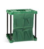 Műanyag kerti szerszámtartó - falra szerelhető - 58 x 31 x 60 cm