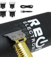 REON - Akkumulátoros trimmelő és hajvágó, 4 db fejjel, díszdobozban