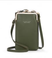 Mobil táska zöld