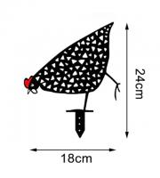 Csirke Kerti Dísz  Kapirgáló csirke