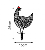 Csirke Kerti Dísz Tyúkanyó