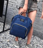Pelenkázótáska, pelenkázó hátizsák, baba táska Sötétkék