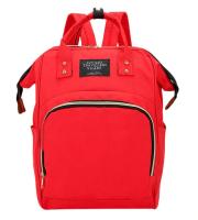 Pelenkázótáska, pelenkázó hátizsák, baba táska Piros