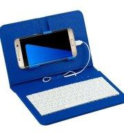 Telefontok billentyűzettel, univerzális telefontok, billentyűzetes mobiltok Kék
