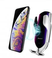 Autós telefontartó és vezeték nélküli töltő, NFC - többféle színben