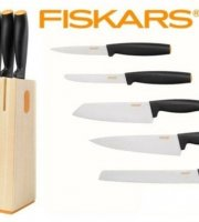 Fiskars Késblokk + 5 db kés